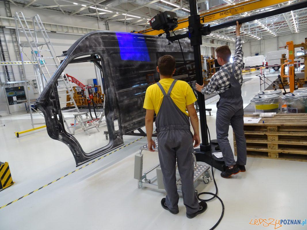 Kształcenie zawodowe w Volkswagen Poznań Foto: mat. prasowe