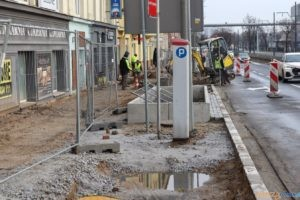 prace na ulicy Królowej Jadwigi  Foto: materiały prasowe / UMP