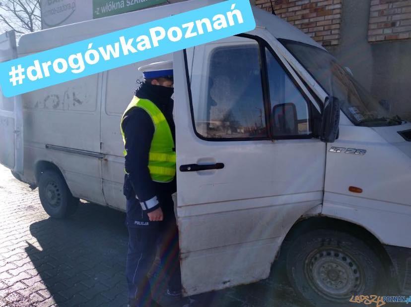 Kontrola Policji Foto: KW Policji w Poznaniu