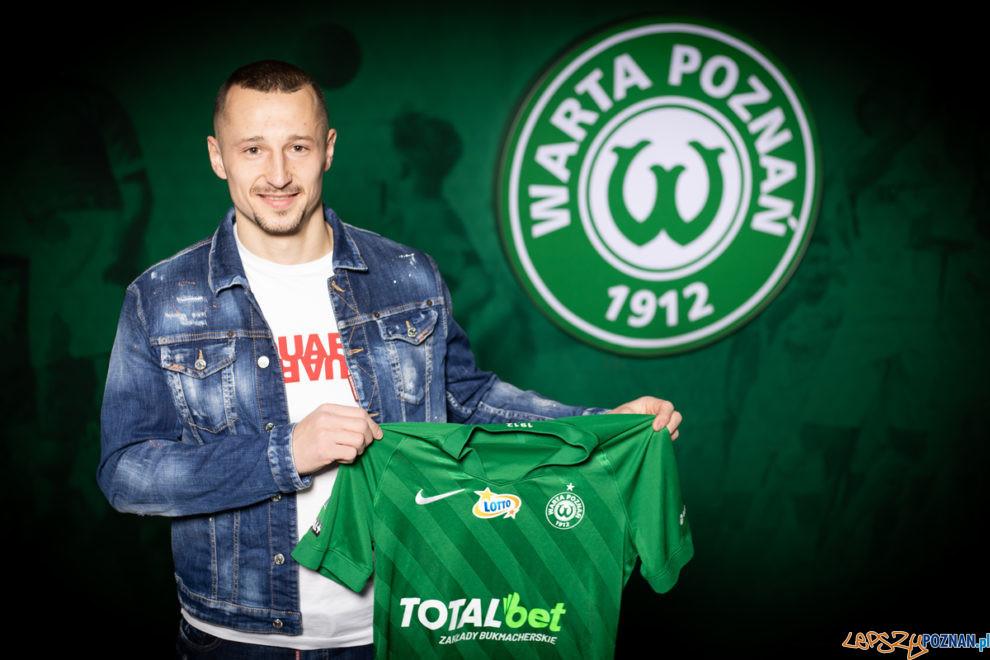 Adam Zrelak - Warta Poznań  Foto: materiały prasowe / Klaudia Berda / Warta Poznań