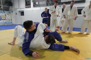 Bezpieczny student, bezpieczny poznaniak - zajęcia Judo  Foto: materiały prasowe / Akademii Judo Poznań