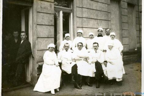 Ireneusz Wierzejewski w klinice im. Gasiorowskiego 1923  Foto: Muzeum Uniwersytetu Medycznego / Cyryl