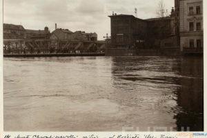 Powódź 1924 Chwaliszewo Warta  Foto: R. S Ulatowski / Cyryl