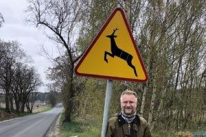 Piotr Tryjanowski - zwierzęta na znakach drogowych  Foto: Uniwerystet Przyrodniczy w Poznaniu