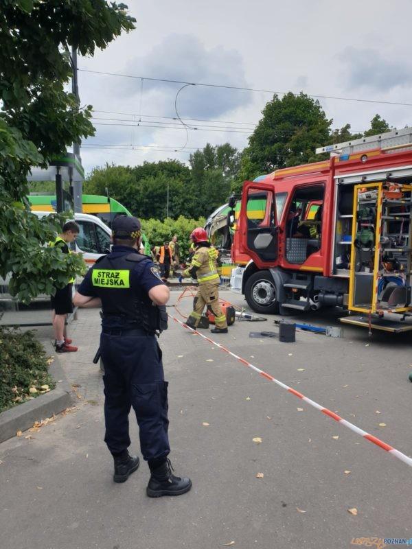 Wypadek na Starołęce Foto: FB / sm_poznan