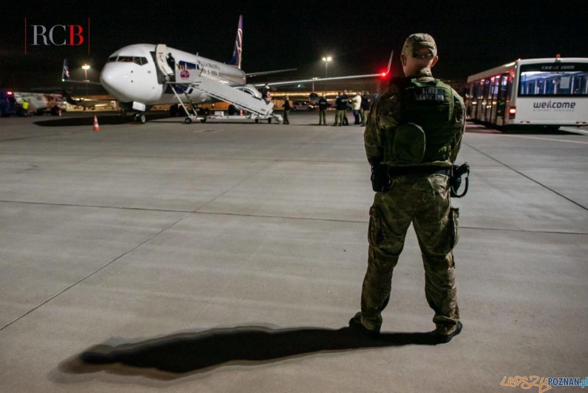 Uchodźcy z Afganistanu dotarli do Poznania Foto: Rządowe Centrum Bezpieczeństwa