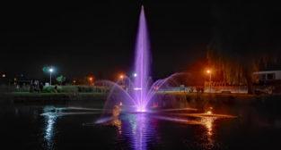 Nowa fontanna w Więckowicach  Foto: UG Dopiewo