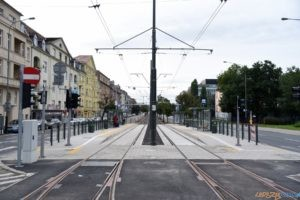 Krolowej Jadwigi tramwaj torowisko przystanek 2017_09_03 (1)  Foto: