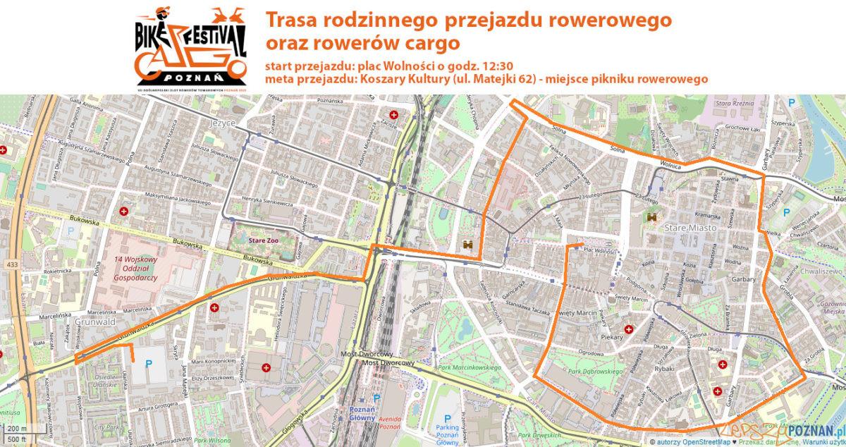 Przejazd Cargo Bike Festival przez Poznań Foto: materiały prasowe