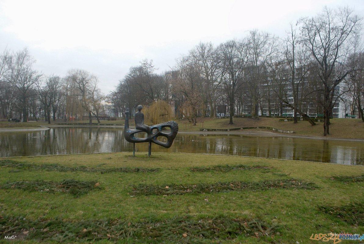 Paw Park Marcinkowskiego, rzeźba Anny Krzymańskiej Foto: mag / fotopolska