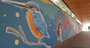 Nowy mural w Poznaniu  Foto: materiały prasowe / UEP